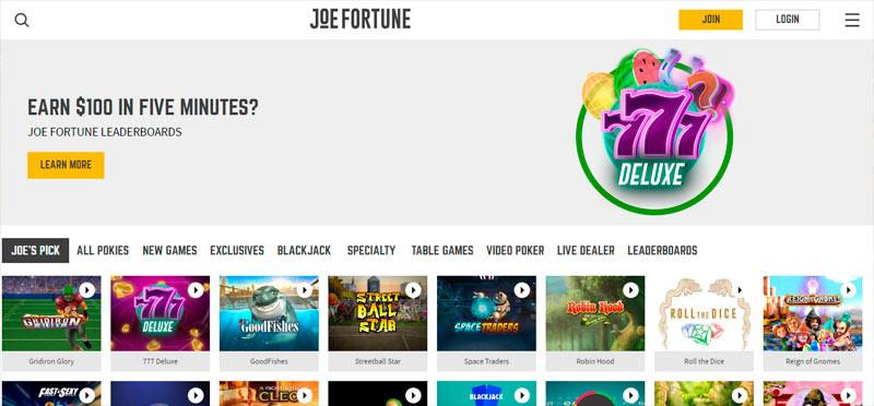 Joe Fortune Casino